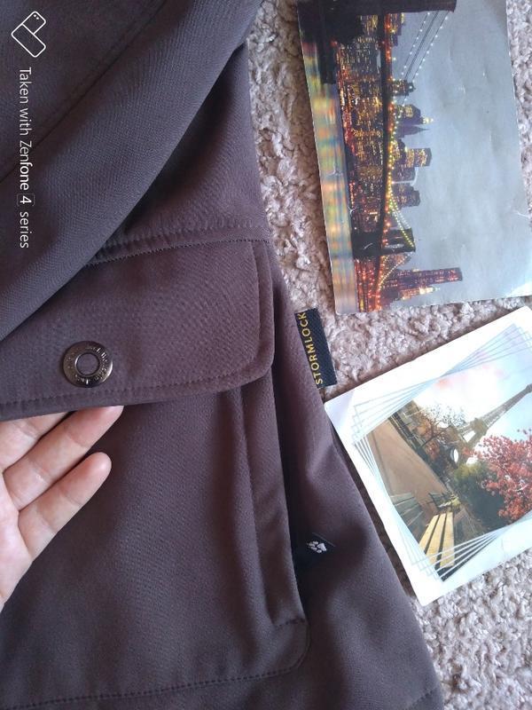 Куртка ветровка jack wolfskin stormlock женская xs джек вольфскин - Фото 3