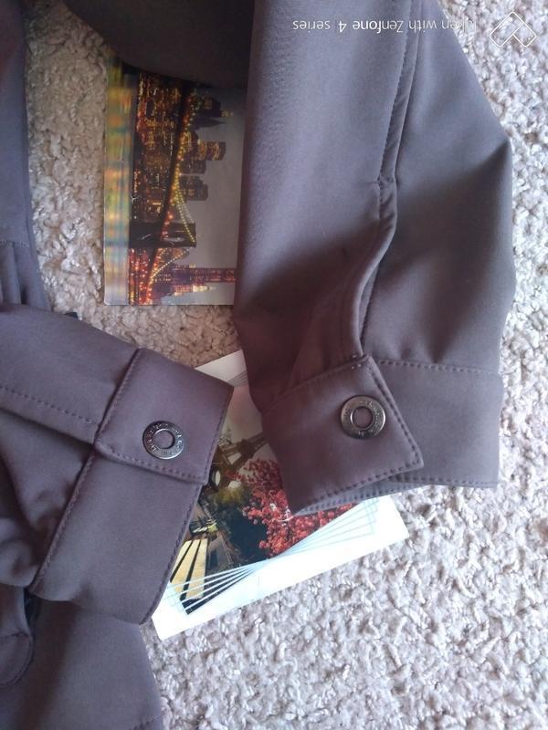 Куртка ветровка jack wolfskin stormlock женская xs джек вольфскин - Фото 4