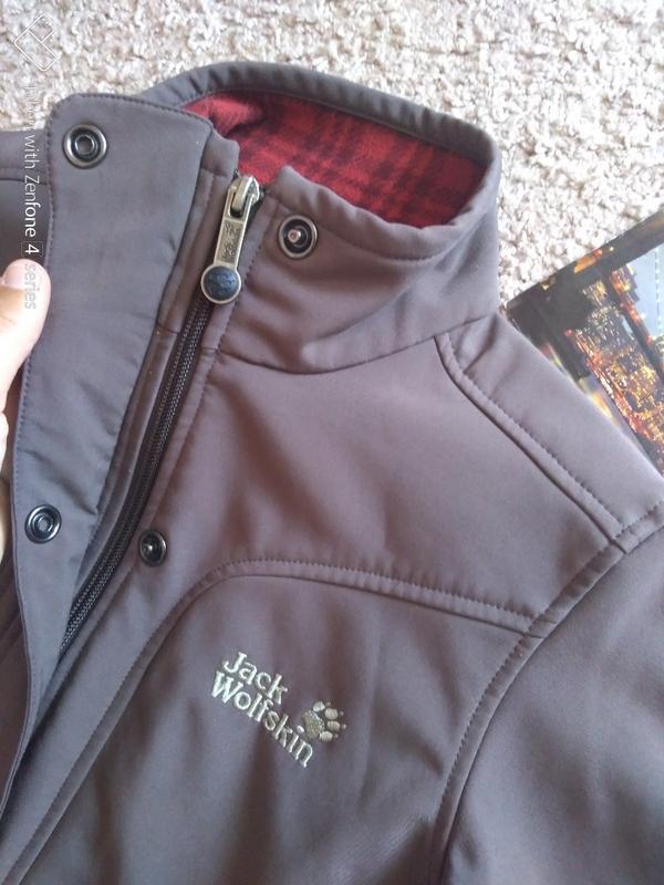 Куртка ветровка jack wolfskin stormlock женская xs джек вольфскин - Фото 5