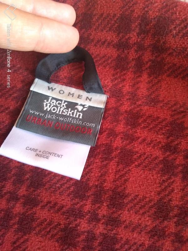 Куртка ветровка jack wolfskin stormlock женская xs джек вольфскин - Фото 8