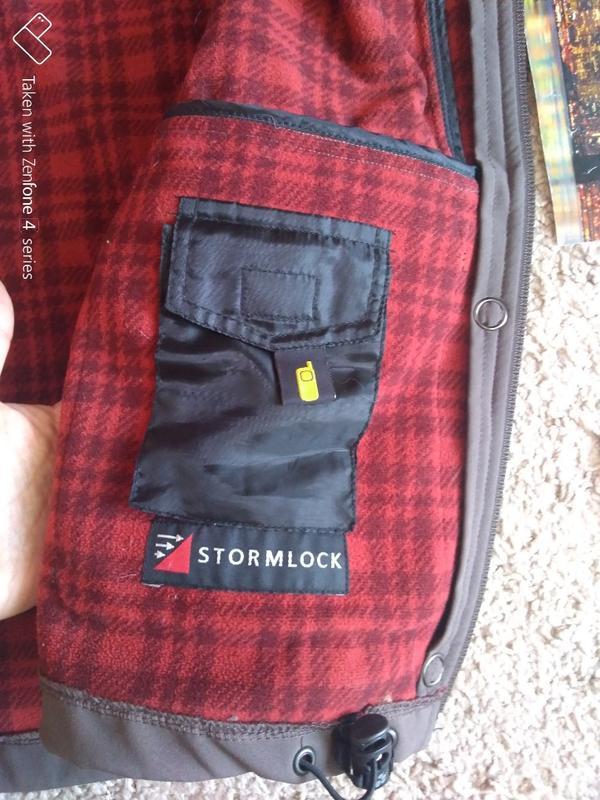 Куртка ветровка jack wolfskin stormlock женская xs джек вольфскин - Фото 10
