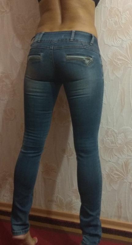 Классные фирменные джинсы р. 42-44 - Фото 2