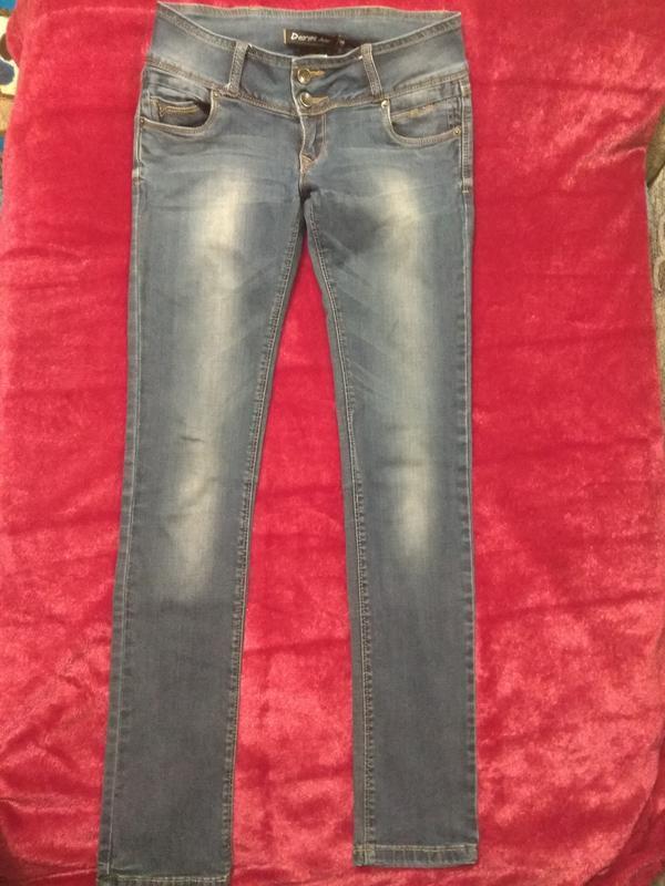 Классные фирменные джинсы р. 42-44 - Фото 3