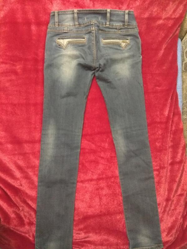 Классные фирменные джинсы р. 42-44 - Фото 5