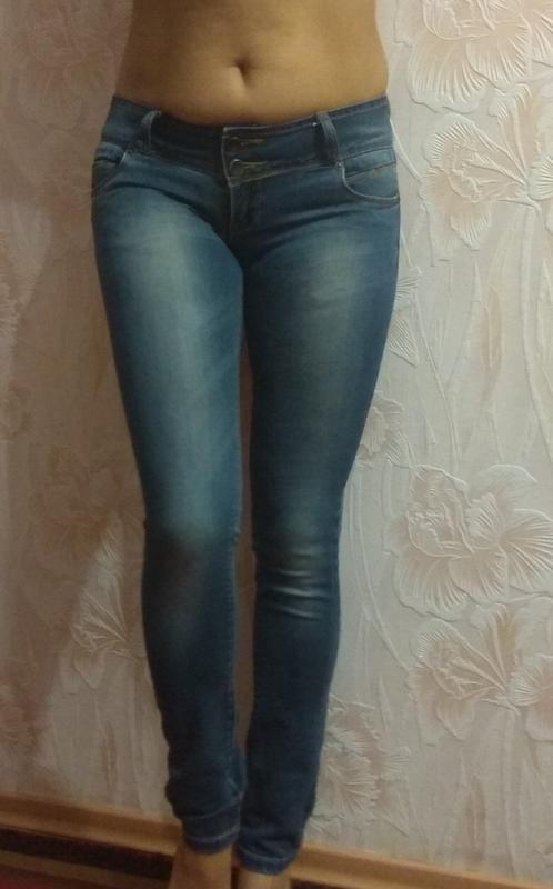 Классные фирменные джинсы р. 42-44 - Фото 6