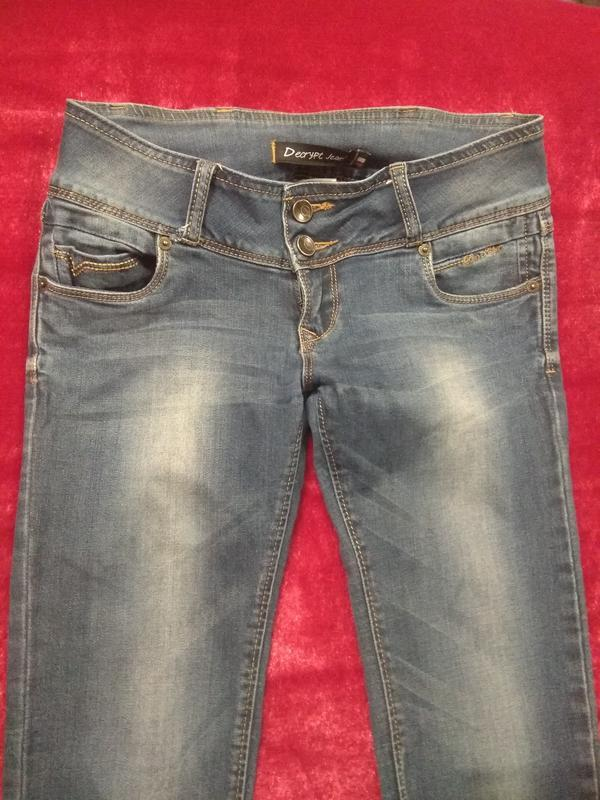 Классные фирменные джинсы р. 42-44 - Фото 8