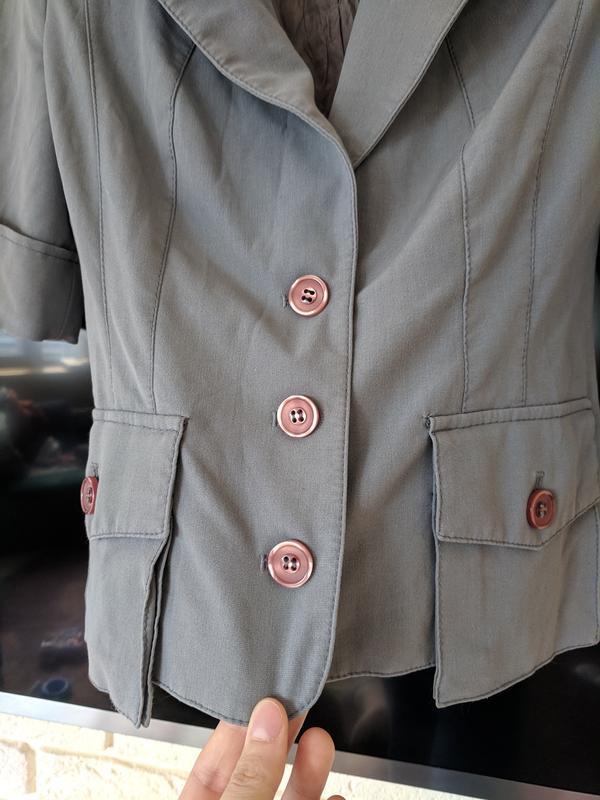 Серый пиджак - Фото 2