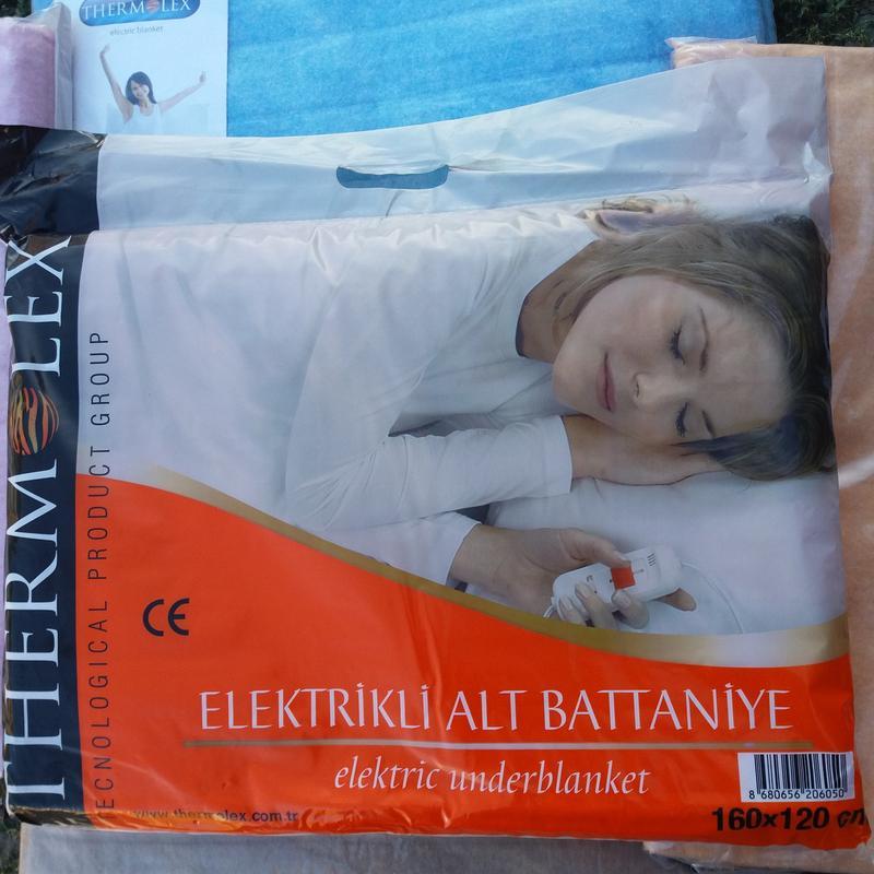 Электропростынь Isitmatik 120*160, простынь с подогревом Турция