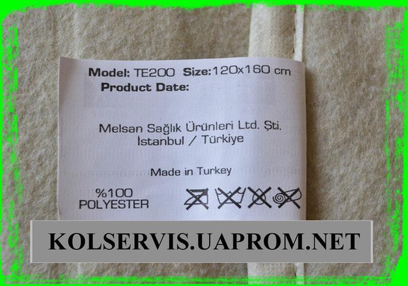 Электропростынь Isitmatik 120*160, простынь с подогревом Турция - Фото 2