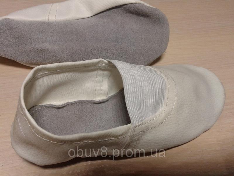 Чешки белые кожаные оптом - Фото 2