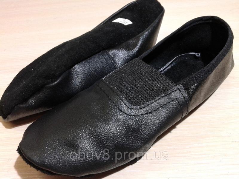 Чешки черные обувь для гимнастики оптом - Фото 3