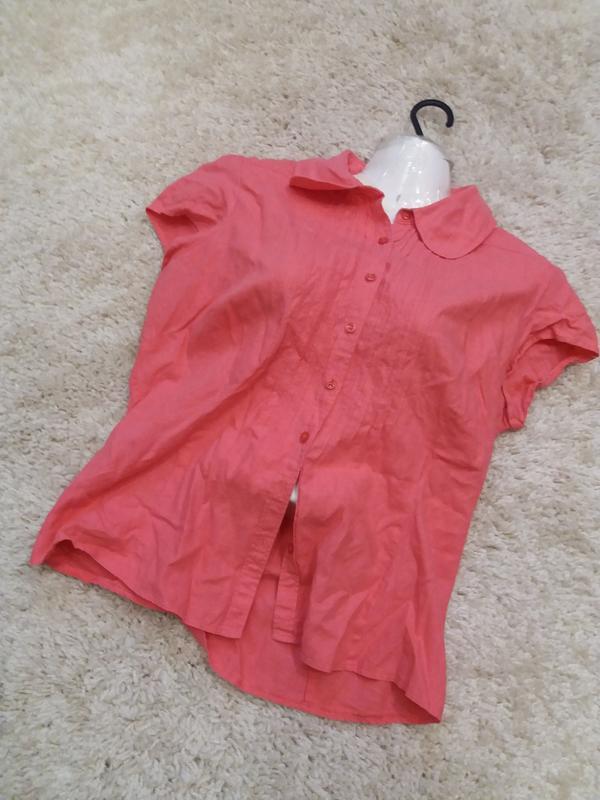 Яркая  рубашка   №17  на48-50р     лен       распродажа - Фото 6
