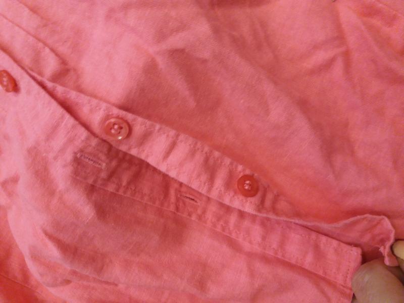 Яркая  рубашка   №17  на48-50р     лен       распродажа - Фото 10