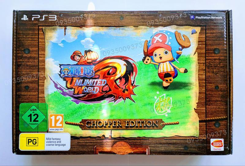 ONE PIECE Unlimited World RED Chopper Edition PS3 коллекционное