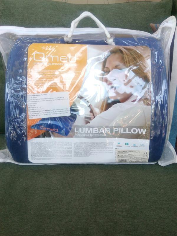 Ортопедична подушка під спину LUMBAR