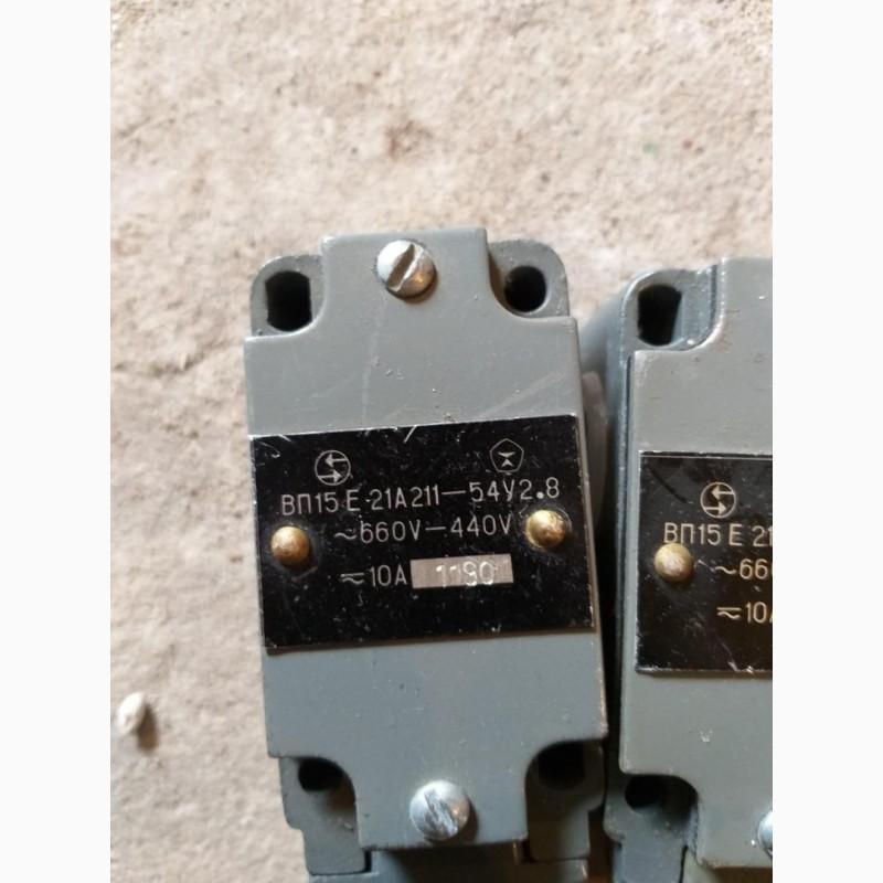 Выключатели ВП15Е-21А211-54У2.8. 660-440в. 10а. -4шт. по 60грн