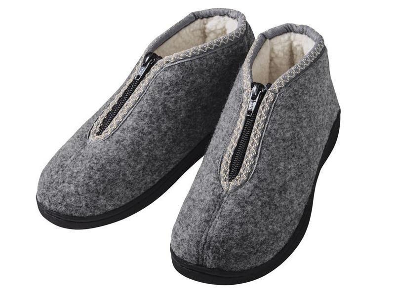 Удобные фетровые ботинки / тапки на меху / р. 38