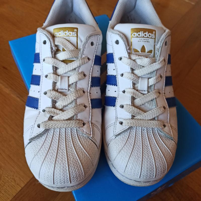 Продам оригінальні кроси Adidas superstar 36р - Фото 5