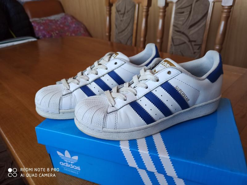 Продам оригінальні кроси Adidas superstar 36р - Фото 4