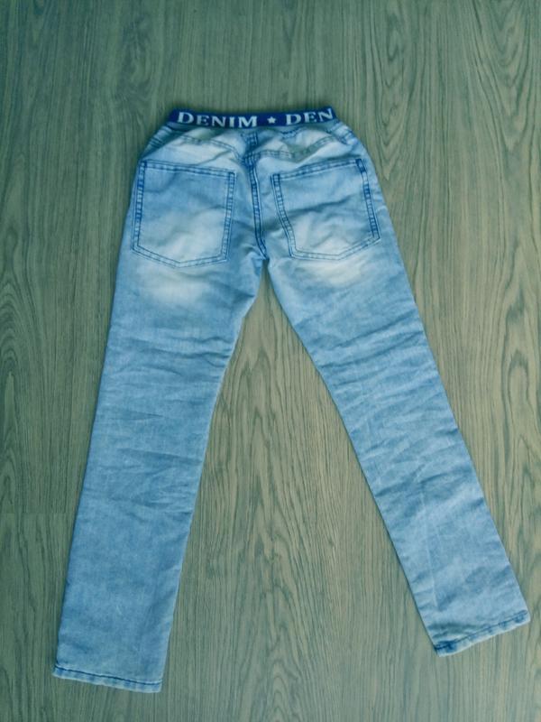 Детские джинсы на мальчика 9-10 лет - Фото 3