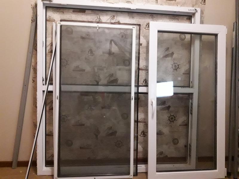 окно металлопластиковое б/у