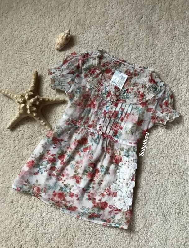 ????guess нарядная блузка для девочки????