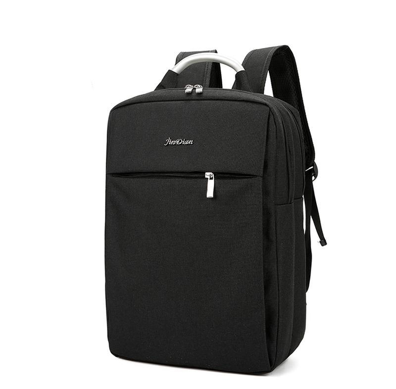 Городской рюкзак usb для ноутбука серый - Фото 6