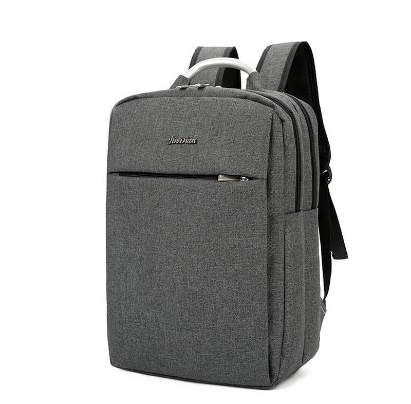 Городской рюкзак usb для ноутбука серый