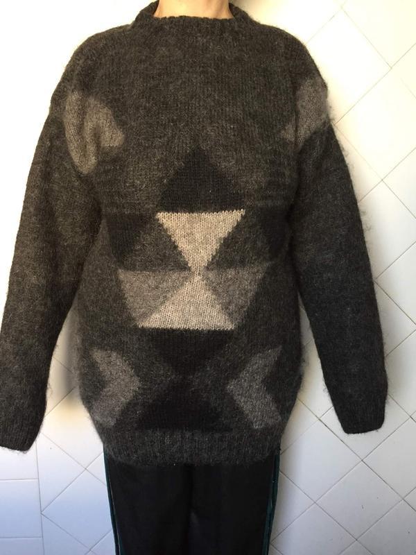 свитер новый мужской шерсть