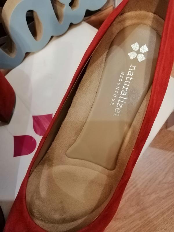 Стильные туфли из натуральной замши. zara naturalizer. nine west - Фото 6