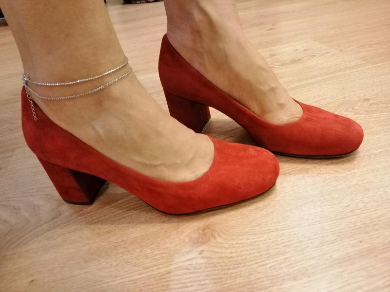 Стильные туфли из натуральной замши. zara naturalizer. nine west - Фото 7