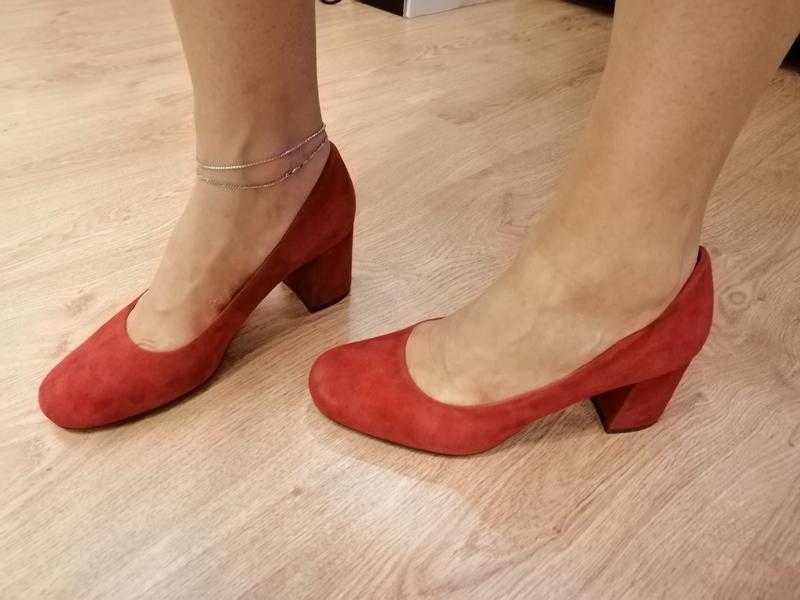 Стильные туфли из натуральной замши. zara naturalizer. nine west - Фото 8