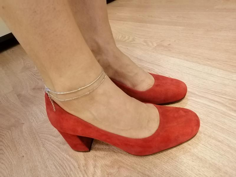 Стильные туфли из натуральной замши. zara naturalizer. nine west - Фото 9