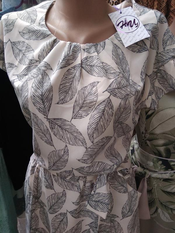 Новинка платье летнее в пол 48-50