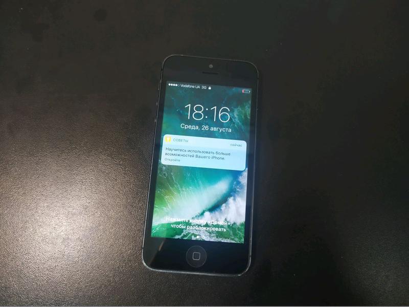 Телефон iPhone 5 чехол в подарок