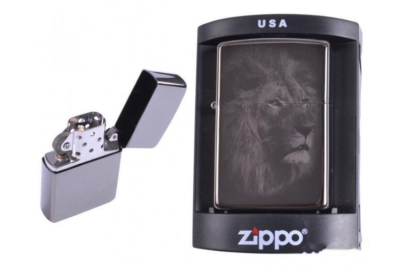 Зажигалка бензиновая Zippo (№4225-1)