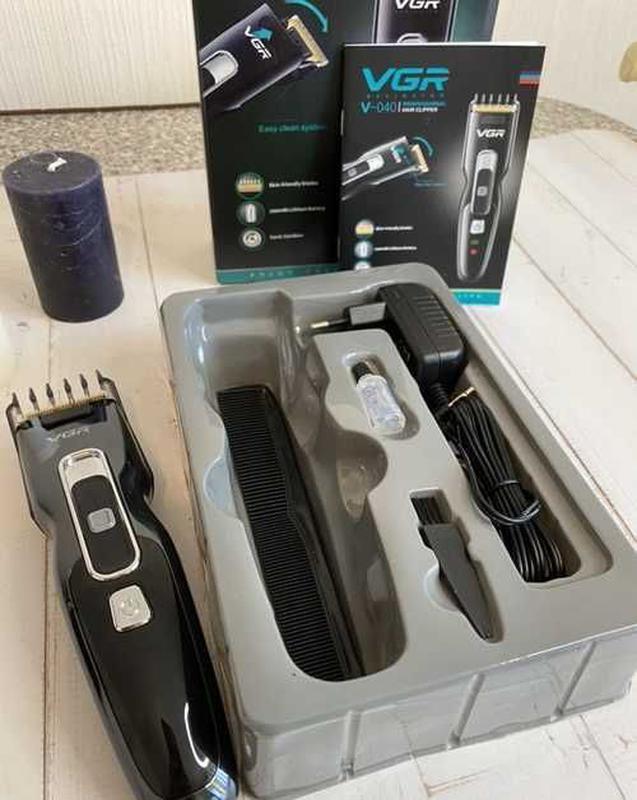 Машинка для стрижки VGR V-040 для стрижки волос стайлер - Фото 12
