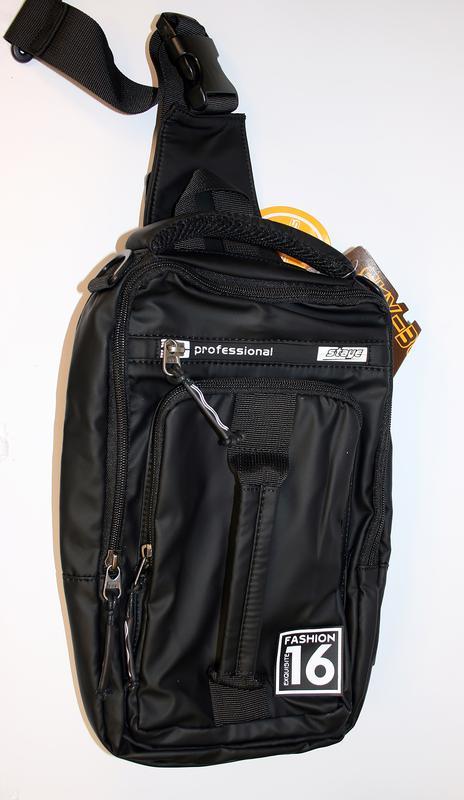 Сумка на плечо мужская, городской рюкзак, полтэстер - Фото 2