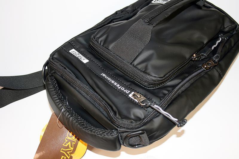 Сумка на плечо мужская, городской рюкзак, полтэстер - Фото 4