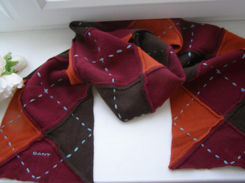 Gant шарф 100% шерсть lamswool. оригинал