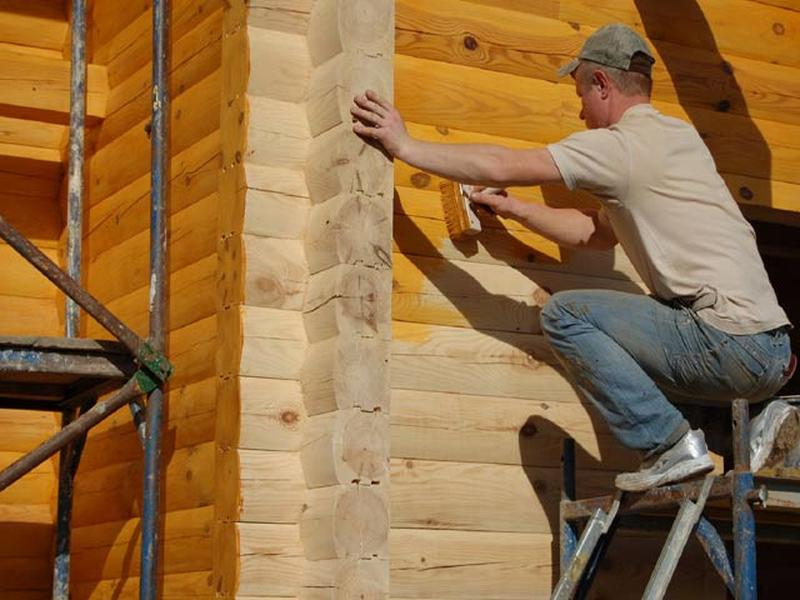 Антисептик для защиты древесины от влаги, грибка и др., 5л - Фото 2