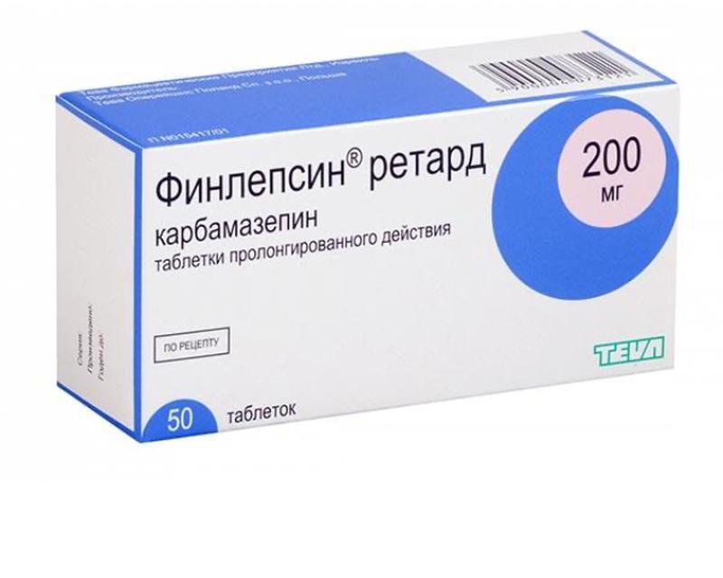 Финлепсин ретард 200 мг