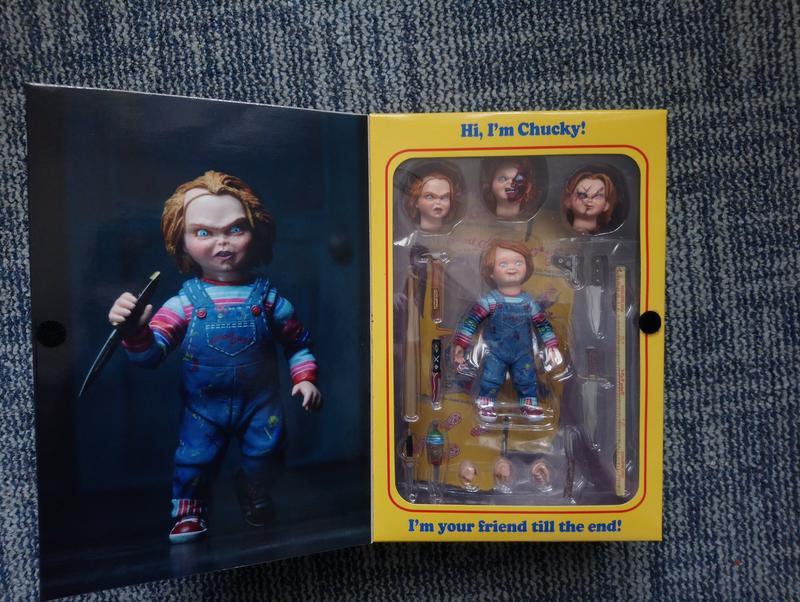 NECA Chucky Ultimate, фігурка Чакі, Чаки Алтимейт