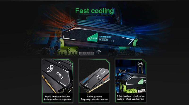 Оперативная память MAXSUN DDR4 16GB (8+8) 3000MHZ - Фото 4