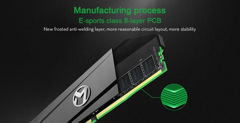 Оперативная память MAXSUN DDR4 16GB (8+8) 3000MHZ - Фото 2