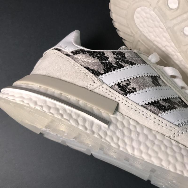 🌹новинка🌹 женские кроссовки adidas zx 500 rm grey camo - Фото 7