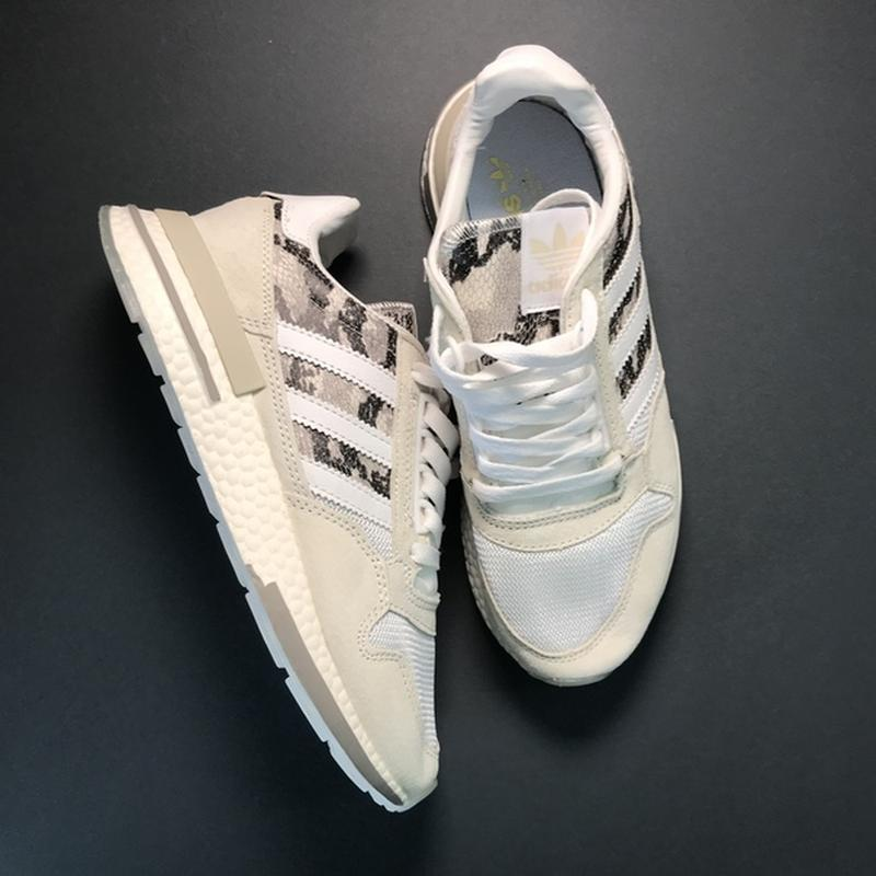 🌹новинка🌹 женские кроссовки adidas zx 500 rm grey camo - Фото 9