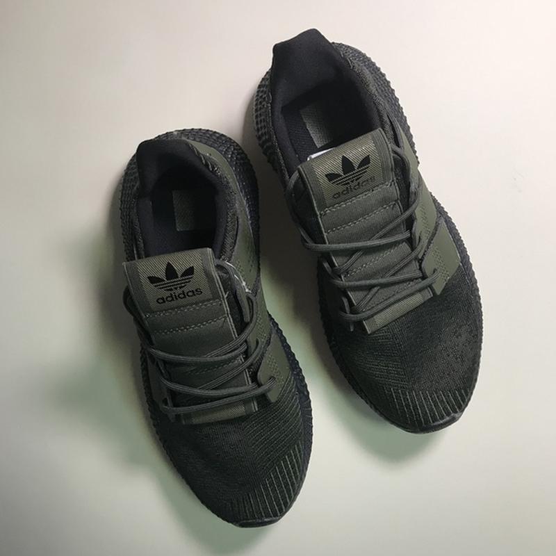 Новинка! мужские стильные кроссовки adidas prophere olive black. - Фото 6