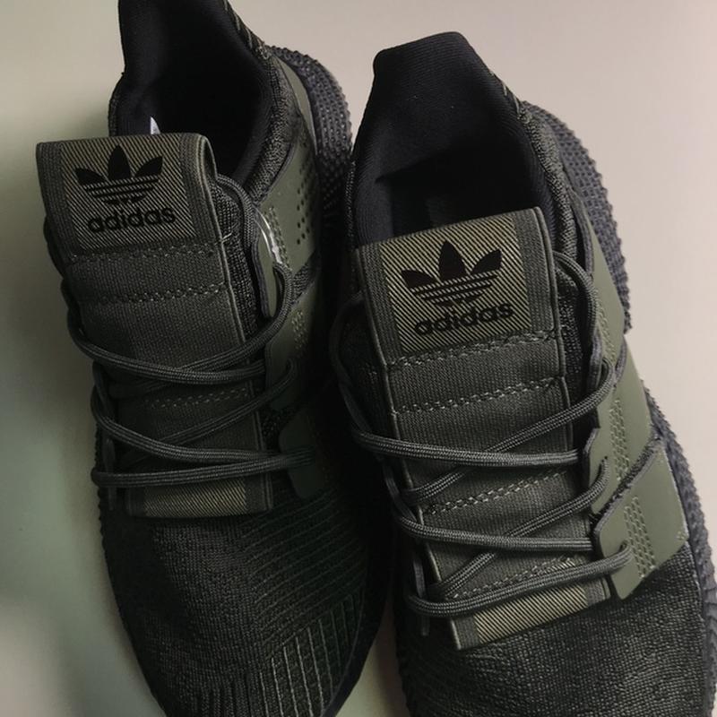 Новинка! мужские стильные кроссовки adidas prophere olive black. - Фото 7