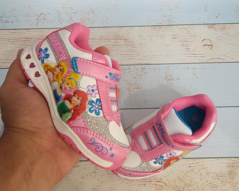 Фирменные кроссовки на девочку дисней, disney, nickelodeon